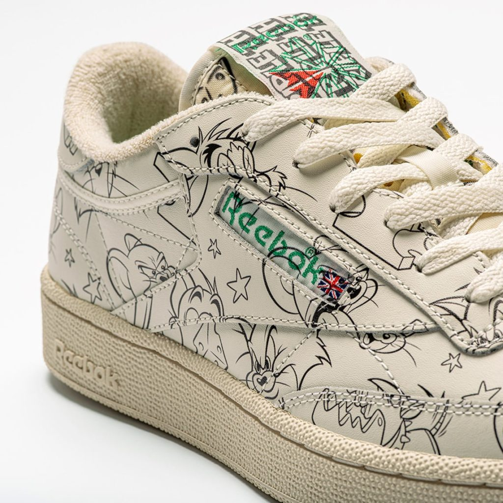 Reebok Club C x Tom & Jerry
